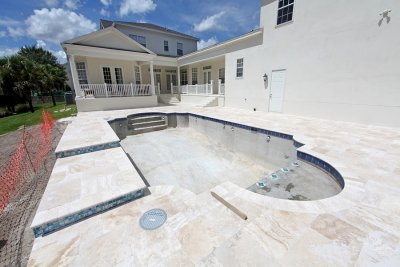 pool - construction